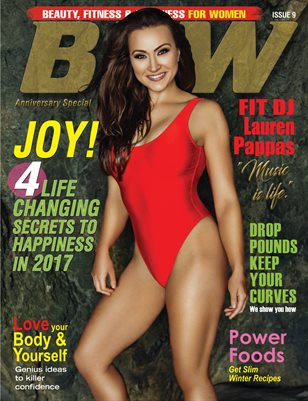 BFW Magazine Issue 9: Beauty, Fitness & Wellness for Women featuring Lauren Pappas (Anniversary Special)