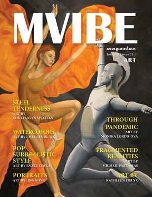 MVIBEmagazine June 2021 issue 22.1 Art