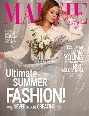 MALVIE Magazine The Artist Edition Vol 267 August 2021