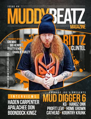 Muddy Beatz Magazine Issue #4 Rittz Edition