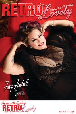 Foxy Fireball Cover Poster