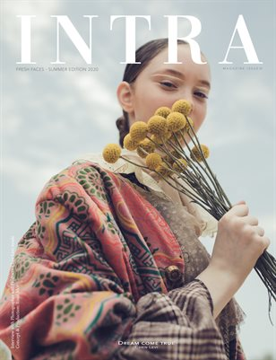 INTRAMAG | Issue.01 Fresh Faces | Cover 2