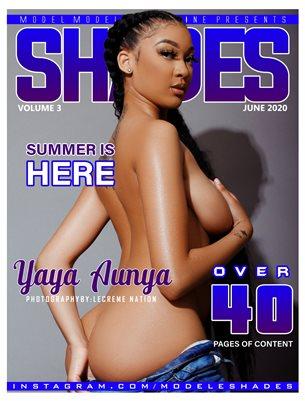 Shades Magazine #3 (Yaya Aunya)