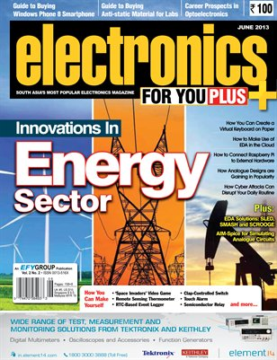 Electronics For You, June 2013