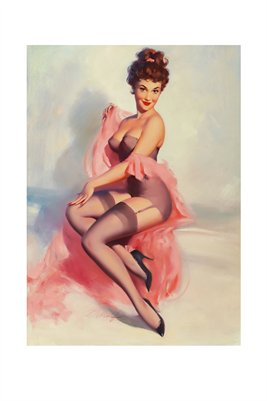 Pretty in Pink-Classic Pinup Girl