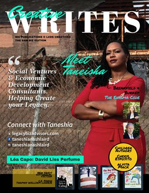 Creative Writes Magazine, Fall 2019