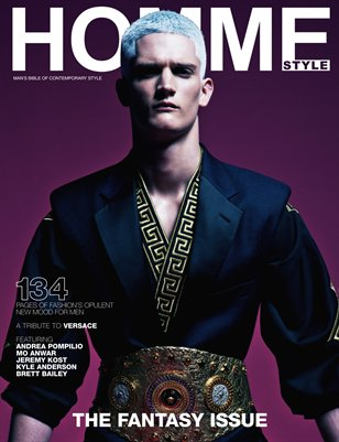 Homme Style 6 - The Fantasy Issue (Cover #1)