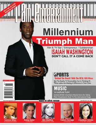 I Am Entertainment, Issue 26 - Isaiah Washington