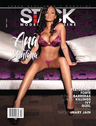 Stack Models Magazine Issue 19 Ana Montana Cover