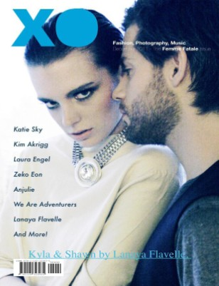 XO MAGAZINE No.10 DECEMBER 2011// KYLA & SHAWN COVER