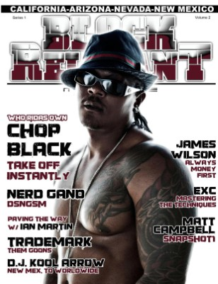 Block Relevant Magazine Vol.2 ft Chop Black
