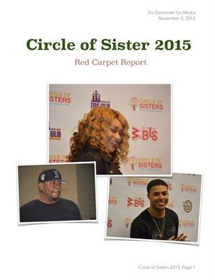 Circle of Sisters 2015, Red Carpet Report