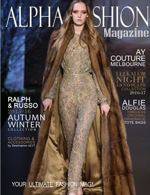 Fall/Winter Fashion-Cover#3