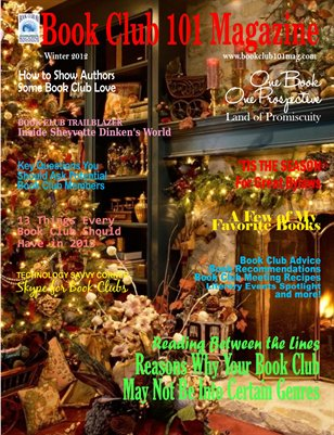 Book Club 101 Magazine Winter Edition 2012