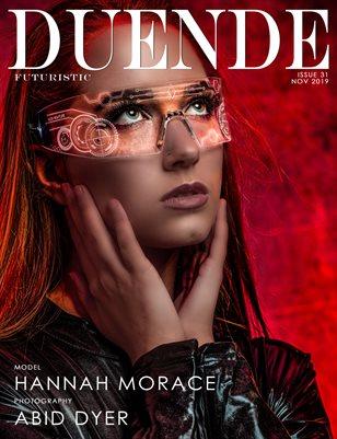 Duende Magazine_ Issue 31_Futuristic_Alt Cover