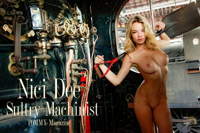 Nici Dee - Sultry Machinist - Poster