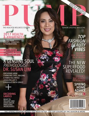 PUMP Fashion Lifestyle Magazine May 2017 | The Health & Wellness Edition Vol.2