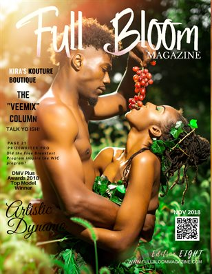Edition 8 (Adam & Eve Cover) Full Bloom Magazine