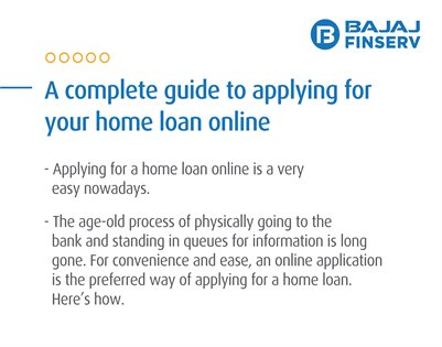 A Complete Guide for Applying Your Home Loan Online