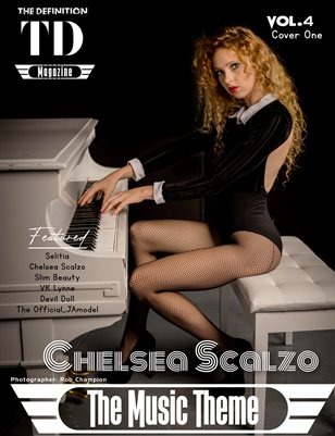 The Definition of Music: Chelsea Scalzo Vol.4 Cover 1