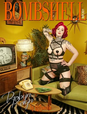 BOMBSHELL Magazine May 2021 BOOK 2 - Robyn Reign Cover