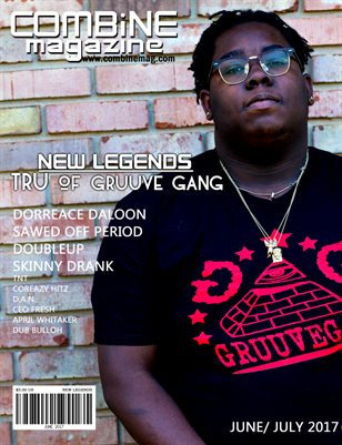 June/ July New Legends Issue Tru Cover