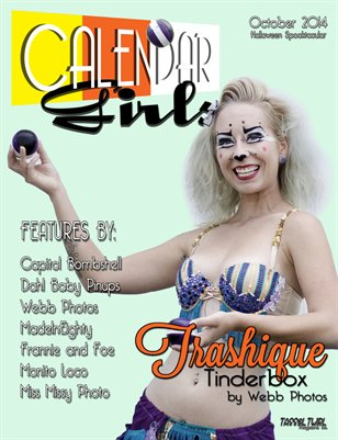 Calendar Girls - Issue One - October 2014 - Trashique Tinderbox Cover