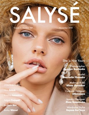 SALYSÉ Magazine | Vol 4 : No 107 | November 2018