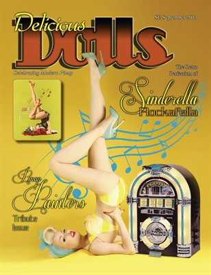 Delicious Dolls 2013 Special Edition Pinup painters Tribute issue - Sinderella Rockafella Cover