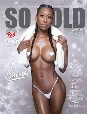 SO KOLD MAG - RED AND WHITE LINGERIE EDITION (BOOK 1 OF 2)