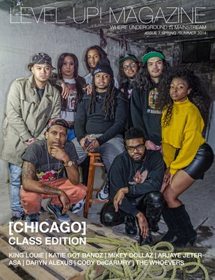 LEVEL-UP! MAGAZINE [CHICAGO] CLASS EDITION