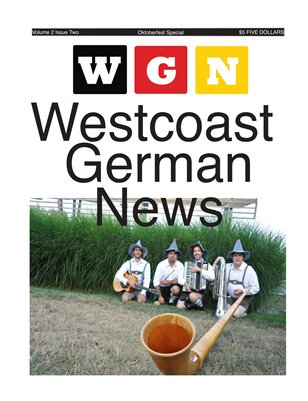 Westcoast German News - September 2015 Edition