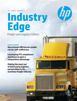 HP Industry Edge: Freight & Logistics edition