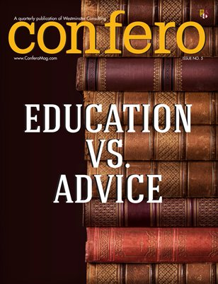 Confero Winter 2014: Education Vs. Advice