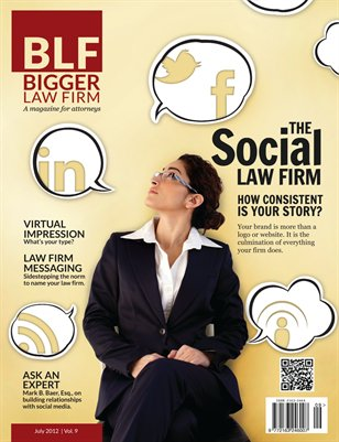 The Social Law Firm - July 2012