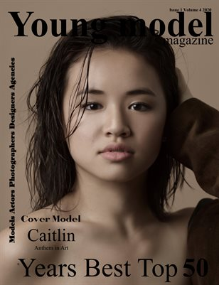 Young Model magazine Years Best Top 50 Issue 1 Volume 4 2020