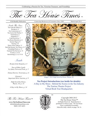 The Tea House Times Mar/Apr 2013 Issue