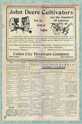 (Pages 3-4) The Obion Democrat, May 29, 1908