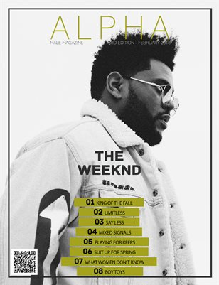 Alpha Male Magazine Spring 2018