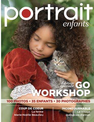 Magazine Portrait d'enfants - Édition Go Workshop