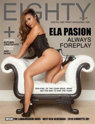 #28 / ELA PASION COVER