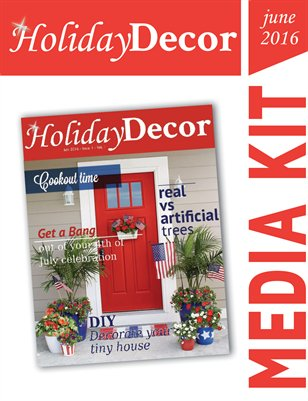 Holiday Decor Magazine Media Kit