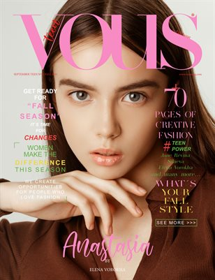 VOUS Magazine | The September Teen Edition | Vol.9 | 2021