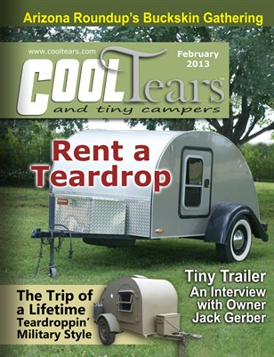 Cool Tears and Tiny Campers Magazine - February 2013