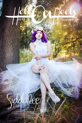 Hell on Heels Magazine October 27th 2017 Poster Feature Siddalee Diaz
