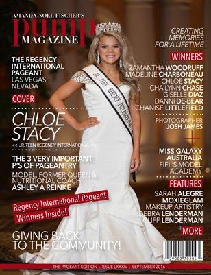 PUMP Magazine Regency International Featuring Chloe Stacy