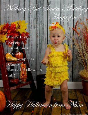 Nothing But Smiles Modeling Magazine! Happy Halloween!