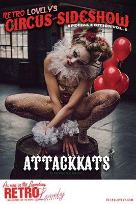 Circus & Sideshow 2021 Vol.6 – Attackkats Cover Poster