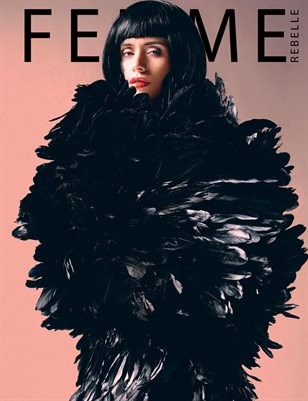 Femme Rebelle Magazine February 2019 BOOK 2 - Martin Zwick Cover