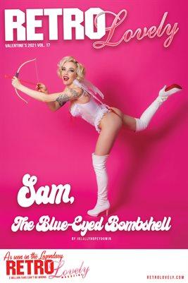 Sam, The Blue-Eyed Bombshell Cover Poster